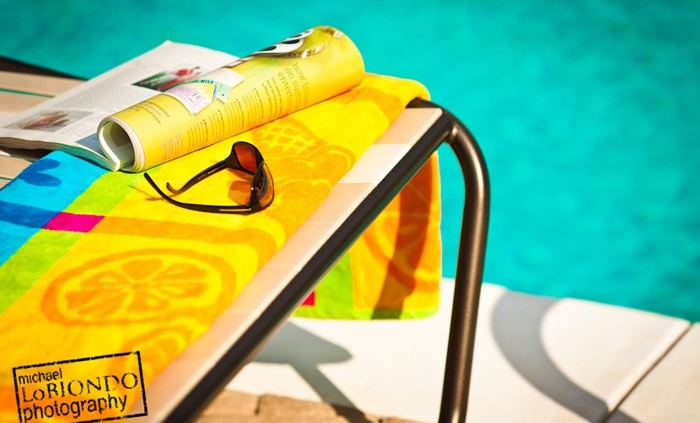 Commercial Photography - Winter Time at the Pool