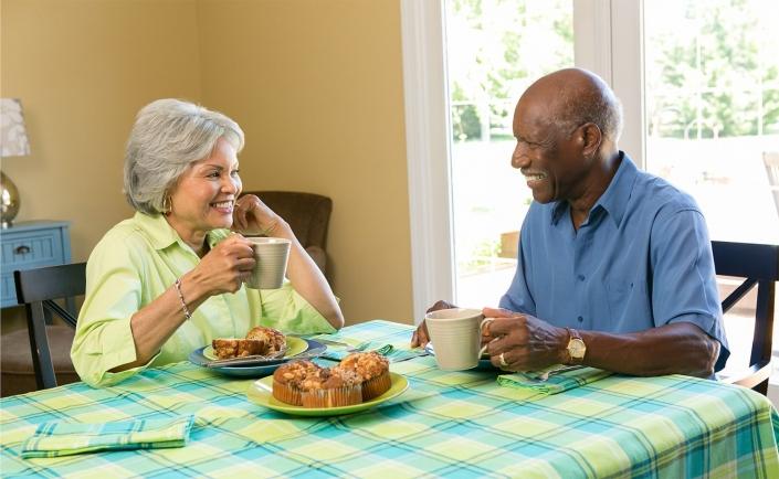 african american-coffee-breakfast-lifestyle