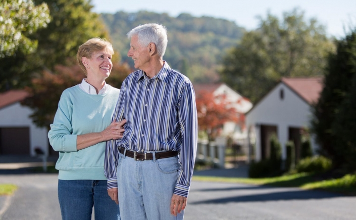 Senior Healthcare Lifestyle Photography - Older couple retirement living
