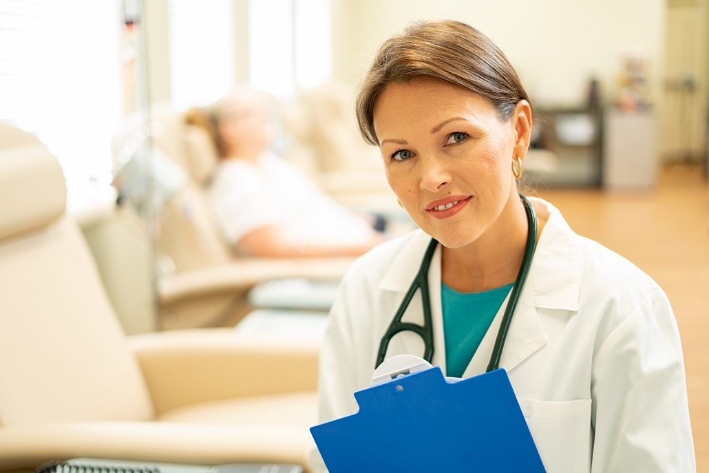 Healthcare Photography - Portrait of doctor in clinical treatment center